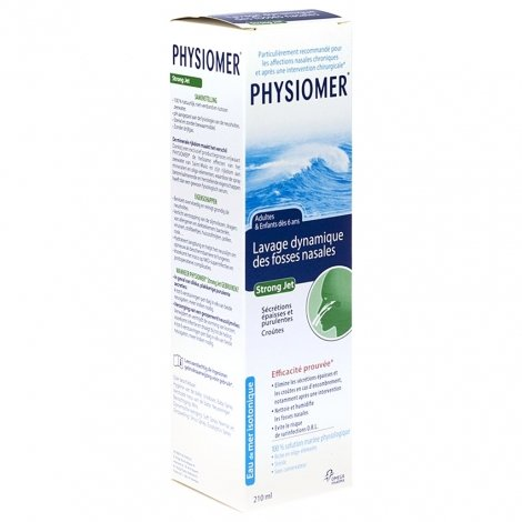 Physiomer forte jet 210ml pas cher, discount