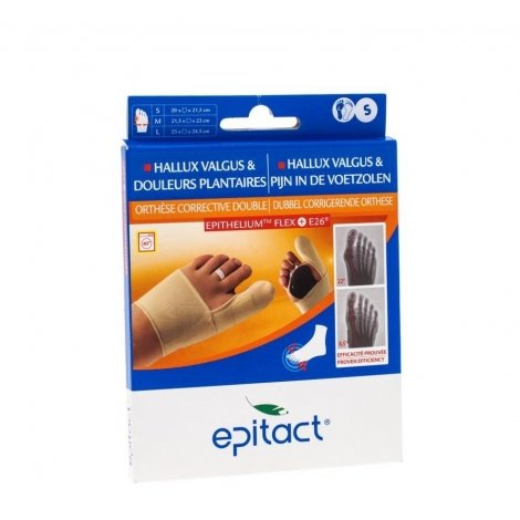 Epitact orthese corrective double protect gauche s pas cher, discount