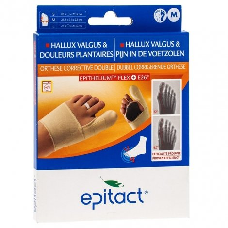 Epitact orthese corrective double protect droit m pas cher, discount