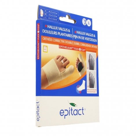 Epitact orthese corrective double protect droit l pas cher, discount