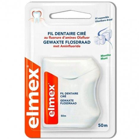 Elmex Fil Dentaire Ciré 50m pas cher, discount
