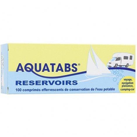 Aquatabs Reservoirs 100 comprimés pas cher, discount