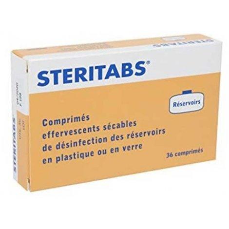 Steritabs Réservoirs 36 comprimés pas cher, discount
