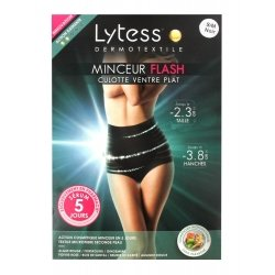 Lytess Minceur Flash Culotte Ventre Plat S/M Noir
