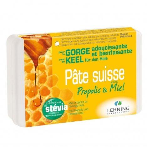 Lehning Pâte Suisse Propolis & Miel 40 gommes pas cher, discount