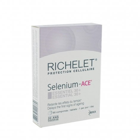 Richelet Selenium - ACE Essentiel 30+ 90 comprimés pas cher, discount