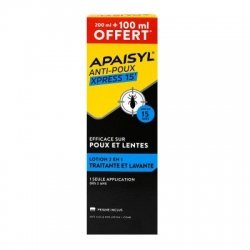Apaisyl Anti-Poux Xpress 15' Lotion 200ml + 100ml OFFERT