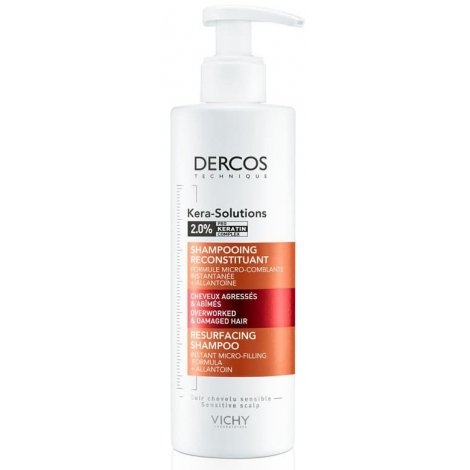 Vichy Dercos Kera-Solutions Shampooing Reconstituant 250ml pas cher, discount