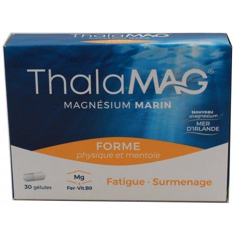 Iprad ThalaMag Magnésium Marin Forme 30 gélules pas cher, discount