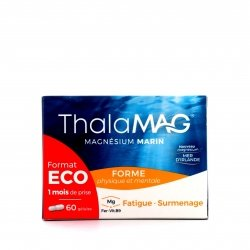 Iprad ThalaMag Magnésium Marin Forme Format Eco 60 gélules