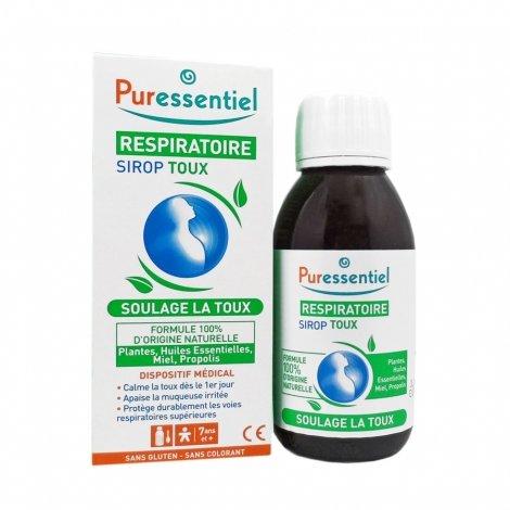 Puressentiel Respiratoire Sirop Toux 125 ml pas cher, discount