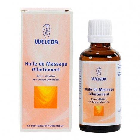Weleda Huile de Massage Allaitement Bio 50 ml pas cher, discount