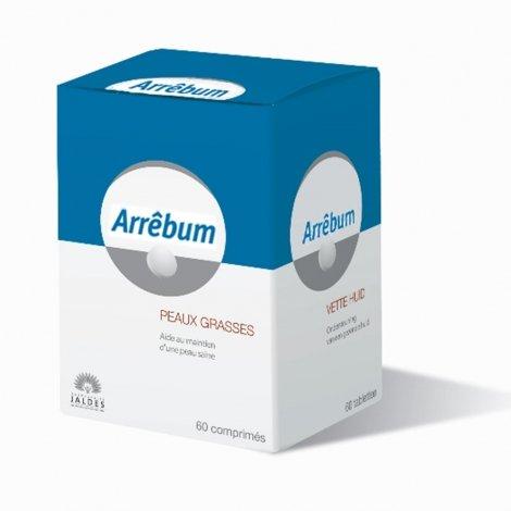 Jaldes Arrêbum Peaux Grasses 60 Comprimés pas cher, discount