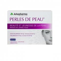 Arkopharma Perles de peau acide hyaluronique+coenzyme Q10 30 capsules