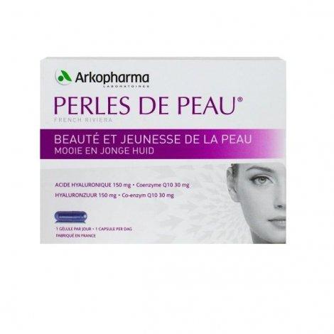 Arkopharma Perles de peau acide hyaluronique+coenzyme Q10 30 capsules pas cher, discount