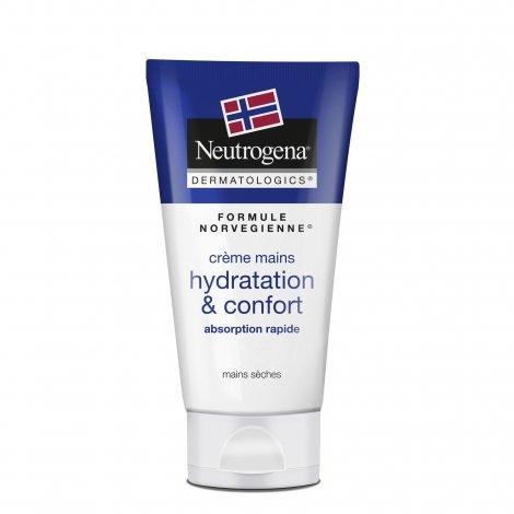 Neutrogena Hydratation & Confort Crème Mains 75ml pas cher, discount