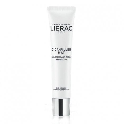 Lierac Cica-Filler Mat Gel-Crème Anti-Rides Réparateur 40ml pas cher, discount