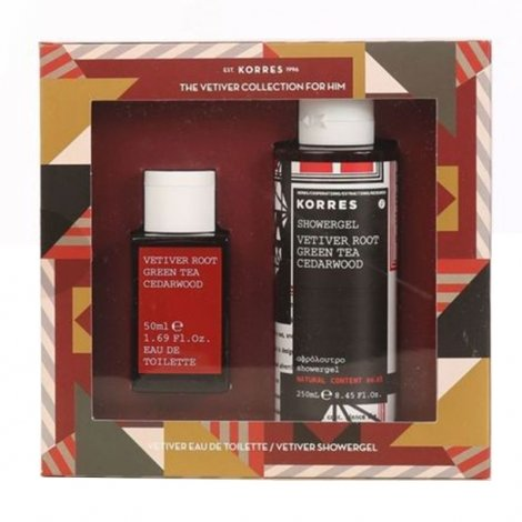 Korres KG Coffret The Vetiver Collection For Him pas cher, discount