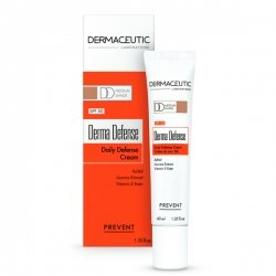 Dermaceutic Derma Defense Crème de Jour DD SPF50 Teinte Medium 40ml