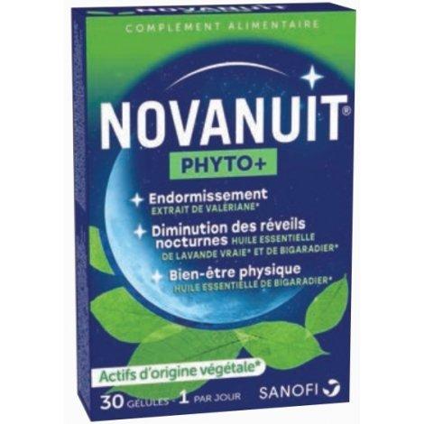 Sanofi Novanuit Phyto+ 30 gélules pas cher, discount
