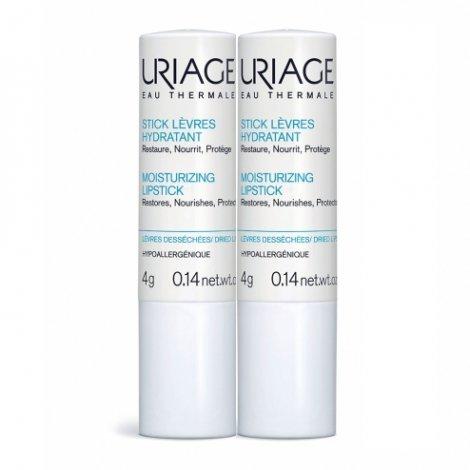 Uriage Duo Pack Stick Lèvres Hydratant 4g pas cher, discount