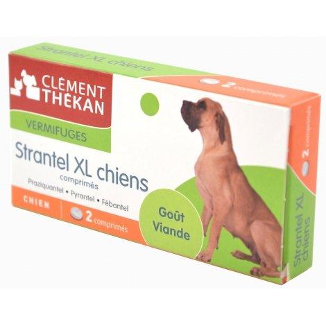 Clément Thékan Strantel XL Vermifuges Chien 2 Comprimés pas cher, discount