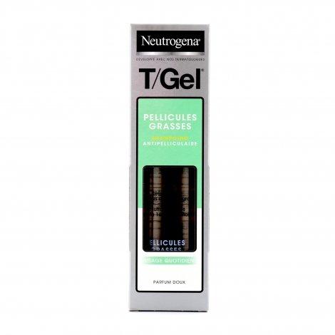 Neutrogena T/Gel Pellicules Grasses Shampoing Antipelliculaire 250ml pas cher, discount