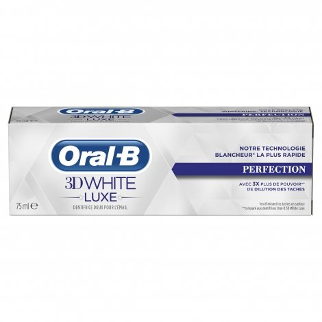 Oral-B 3D White Luxe Perfection 75 ml pas cher, discount