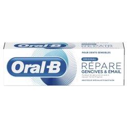 Oral B Répare Gencives et Email Original Dentifrice 75ml