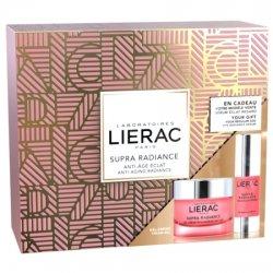 Lierac Supra Radiance Coffret - Gel-Crème Rénovateur Anti-Ox 50ml + Cadeau Sérum Eclat Regard 15ml