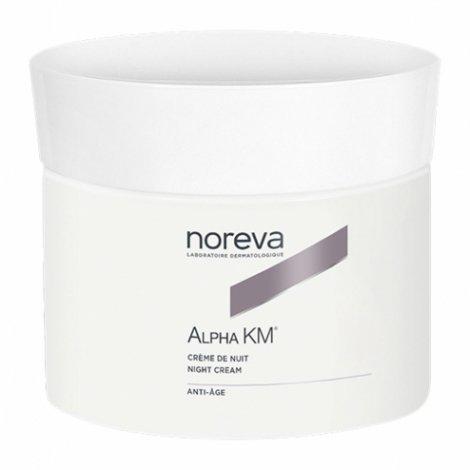 Noreva Alpha Km Crème Soin Anti-âge Réparateur Nuit 50ml  pas cher, discount