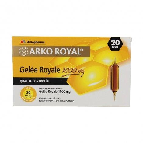 Arkopharma Arko Royal Gelée Royale 1000mg 20 ampoules de 15ml pas cher, discount