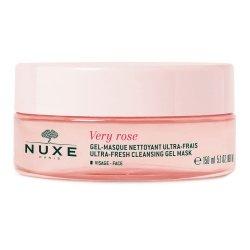 Nuxe Very Rose Gel-Masque Nettoyant Ultra-Frais 150ml