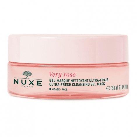 Nuxe Very Rose Gel-Masque Nettoyant Ultra-Frais 150ml pas cher, discount