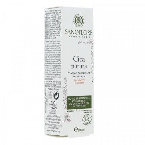 Sanoflore Cica Natura Masque Pansement Réparateur Lèvres 10ml pas cher, discount