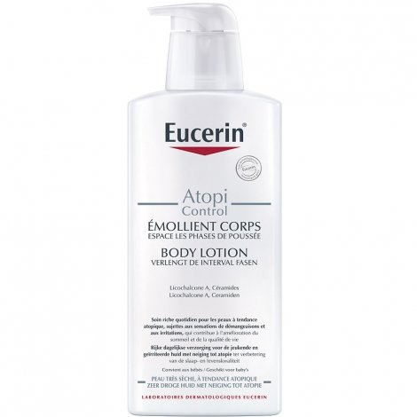 Eucerin Atopicontrol Emollient Corps Calmant 400ml pas cher, discount
