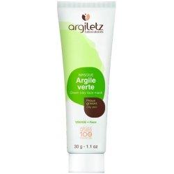 Argiletz Mini Masque Visage Argile Verte Prête à l'Emploi 30g