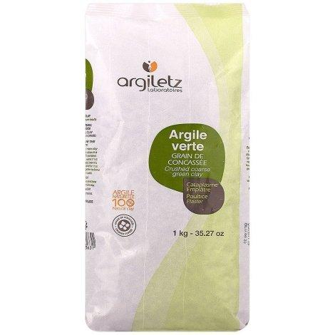 Argiletz Argile Verte Grain de Concassée 1kg pas cher, discount