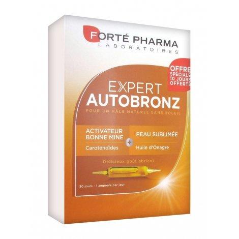 Forté Pharma Expert AUTOBRONZ 30 Ampoules 10ml pas cher, discount