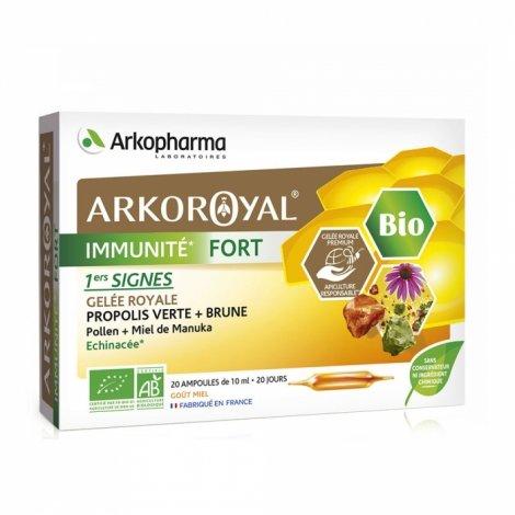Arkopharma ArkoRoyal Immunité Fort Bio 20 ampoules pas cher, discount