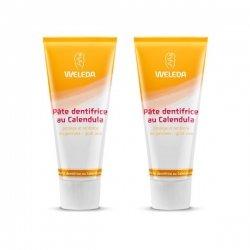 Weleda Duo Pâte Dentifrice au Calendula 2 x 75ml