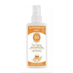 Alphanova Bébé Sun Spray Solaire Bio SPF50 125ml