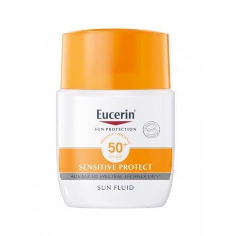 Eucerin Sensitive Protect Sun Fluide SPF50+ 50ml pas cher, discount