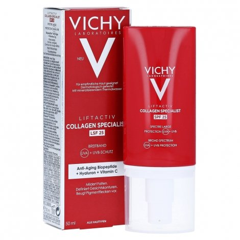 Vichy Liftactiv Collagen Specialist SPF25 50ml pas cher, discount