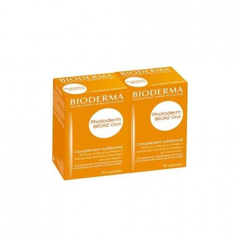 Bioderma Duo Photoderm Bronz Oral 2 x 30 capsules pas cher, discount
