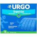 Urgo Urgostrips Bandelettes Adhésives 100mm x 6mm 10 pièces