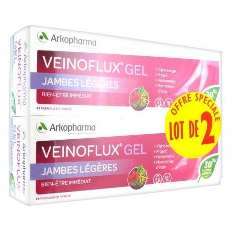 Arkopharma Duo Pack Veinoflux Gel Jambes Légères 2 x 150ml pas cher, discount