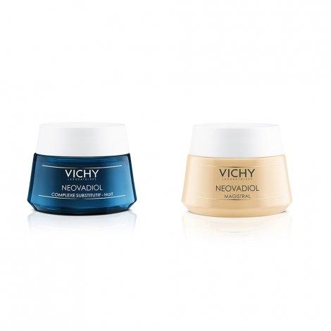 Vichy Neovadiol LOT de 2 soins Magistral Baume Densifieur 50 ml  + Crème de nuit pas cher, discount