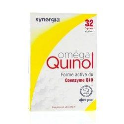 Synergia Oméga Quinol 32 capsules