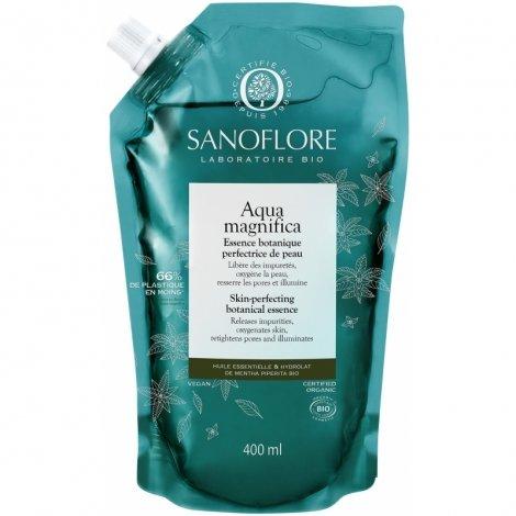 Sanoflore Aqua Magnifica Essence Botanique Perfectrice de Peau 400ml pas cher, discount